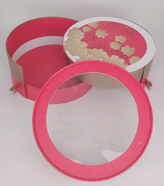 年糕圆筒礼品盒